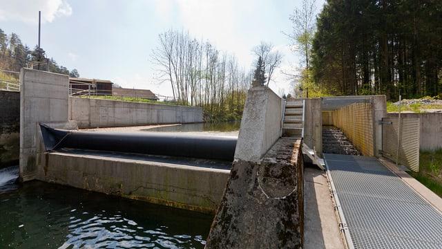 Wasserkraftwerk Frauenfeld
