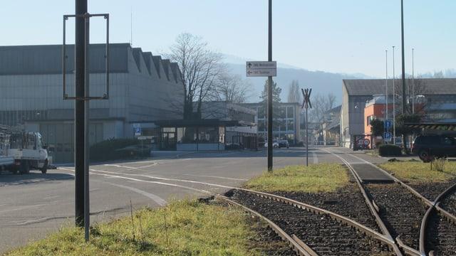 Blick auf das Swissmetal-Areal in Dornach