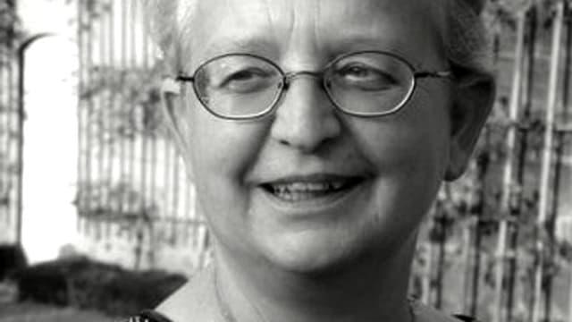 Porträt von Margrit Schenker.