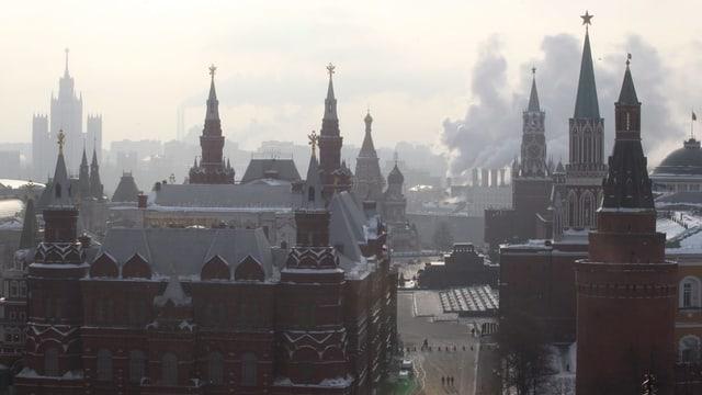 Kreml von weitem.