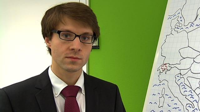 Jonas Grätz, Ukraine- und Russland-Spezialist von der ETH.
