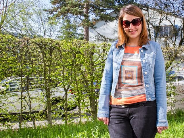 Der Jeansjackenträger ist einfach nur gutschweizerischer Durchschnitt.