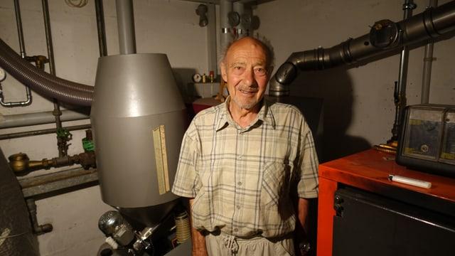 Gia 4 decennis è Florian Koch fascinà da l'energia dal sulegl.