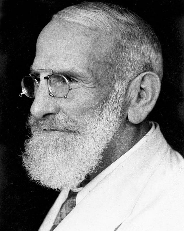 Max Bircher-Benner, um 1937.