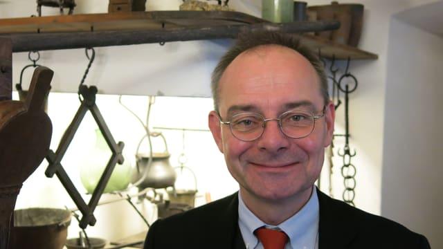 Michael Kessler, Leiter des Pharmazie-Historischen Museum in Basel.