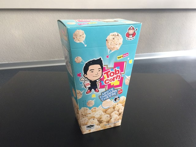 Packung Popcorn