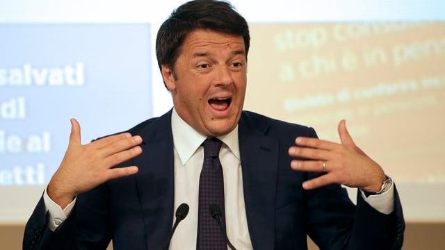 Italiens Regierungschef Matteo Renzi.