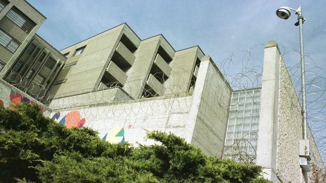 Die Haftanstalt Bellevue in Gorgier (NE).