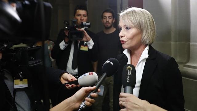 CVP-Nationalrätin Elisabeth Schneider-Schneiter