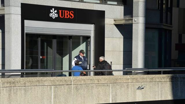 Eine UBS-Filiale im Kanton Genf.