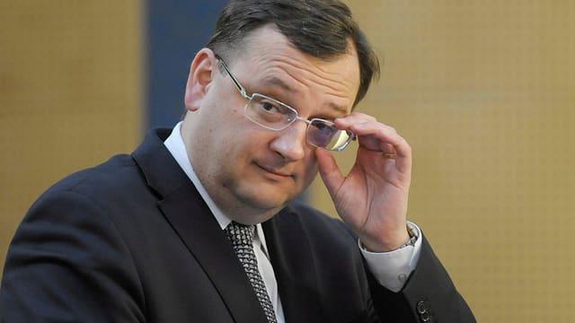 Tschechischer Ministerpräsident Petr Necas