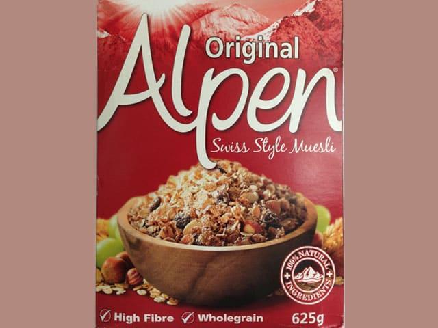 Verpackung Alpen-Müesli