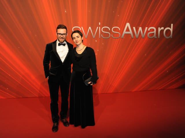 Moderator Nik Hartmann und seine Frau Carla