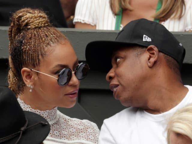 Beyoncé und Jay Z 2016 in Wimbledon.