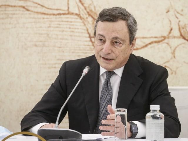 Italiens Premierminister Mario Draghi.