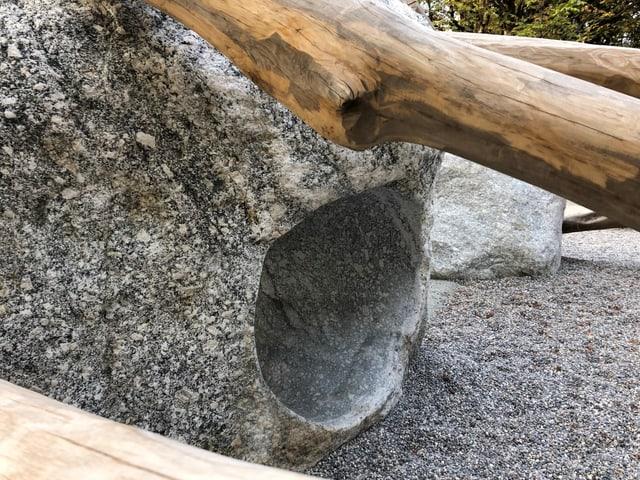 Visualisierung Stein