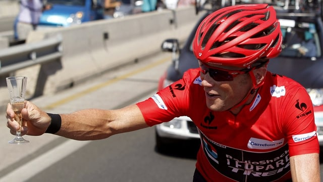 Chris Horner konnte sich schon auf der letzten Etappe der Vuelta feiern lassen.