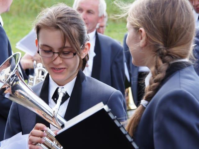 Jugenliche Musiker