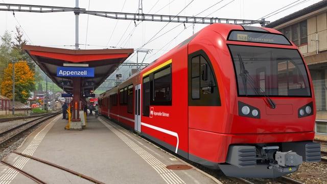 Bahnhof Appenzell