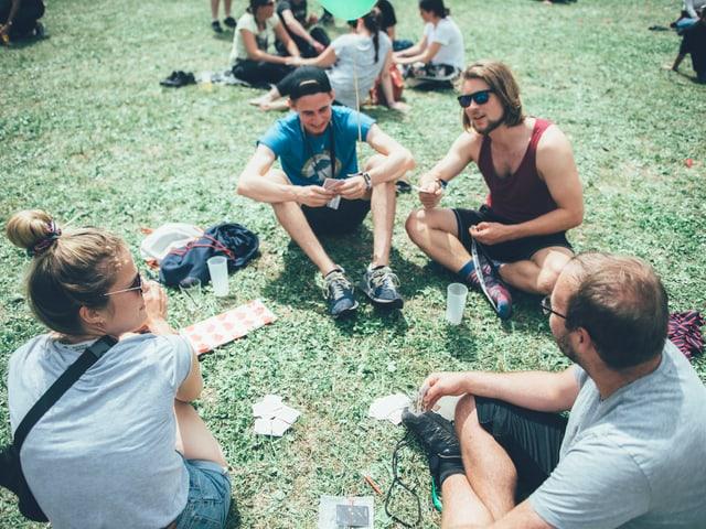 Festivalbesucher