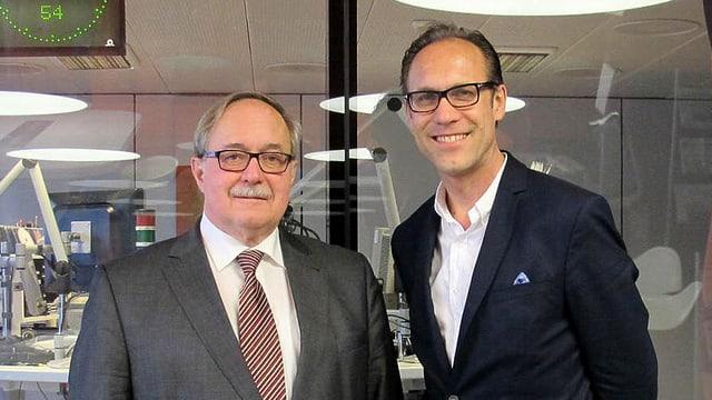Samuel Schmid und Christian Zeugin