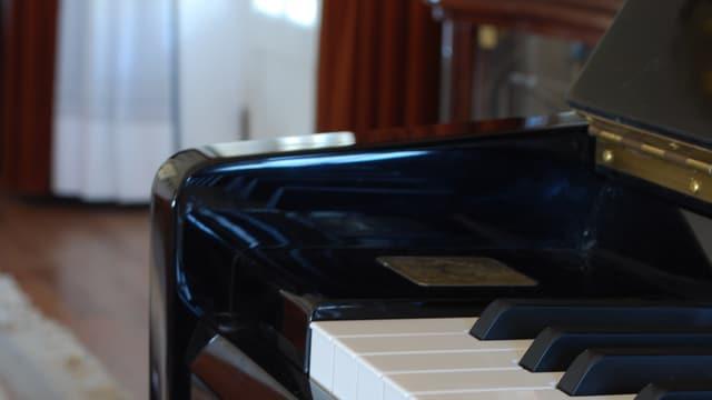 Nahaufnahme Klavier