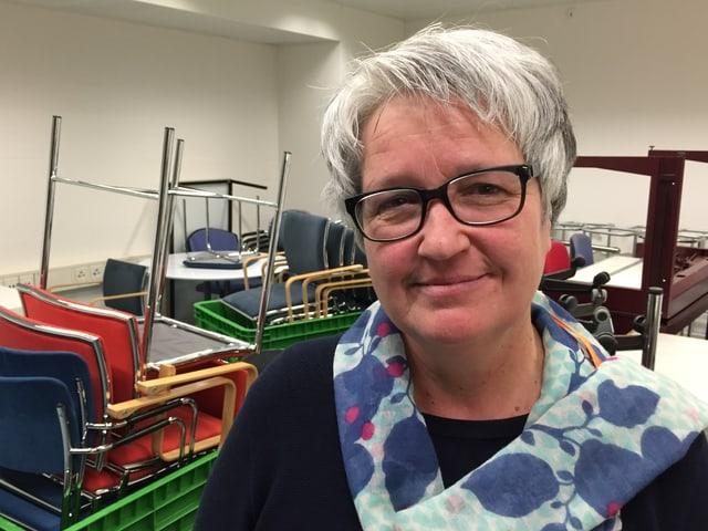 Cornelia Benz, Leiterin Infrastruktur im Stadtspital Triemli