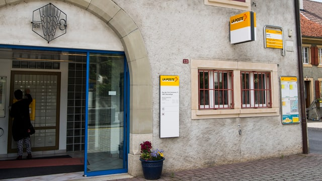 Poststelle von Aussen.