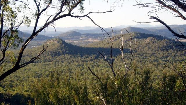 Landschaft in New South Wales, in der vor zehn Jahren ein Kohlemine entstehen sollte.