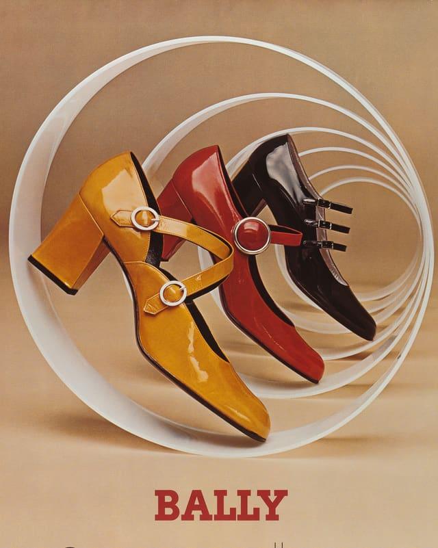 «Bally»-Werbung von 1970.