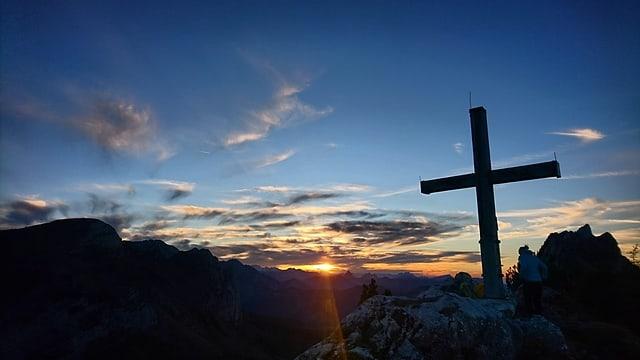 Gipfelkreuz des Brüggler`s