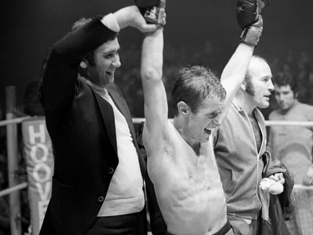 Die Schweizer Box-Legende Fritz Chervet.