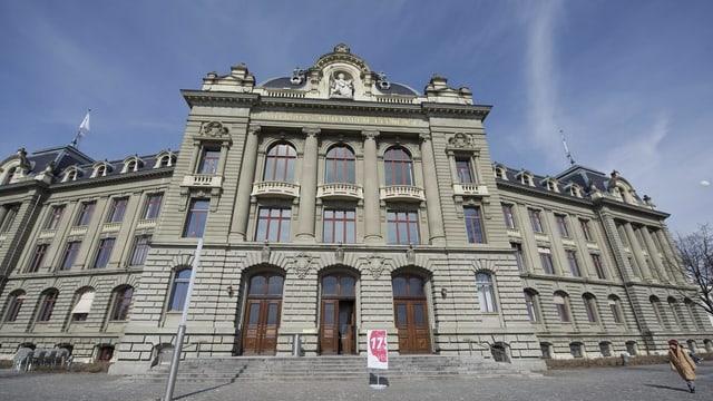 Hauptgebäude der Universität Bern.