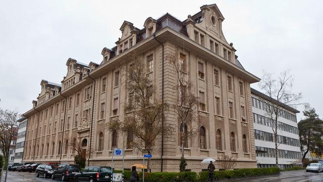 Bild des Gebäudes der Finma.