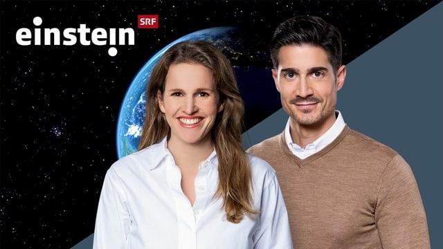Kathrin Hönegger und Tobias Müller, Moderatoren «Einstein»