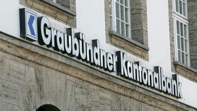 Schriftzug der Bündner Kantonalbank