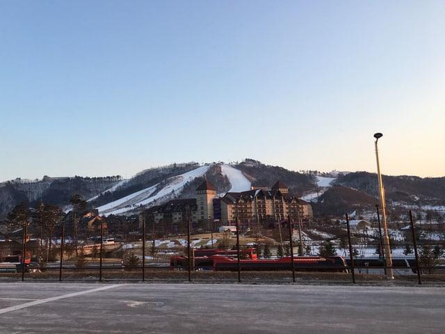 Skipisten in Pyeongchang
