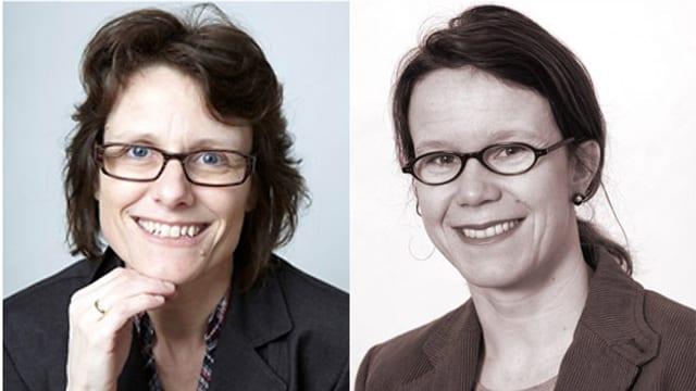 Dr. Ruth Draths und Dr. Christina Schlatter