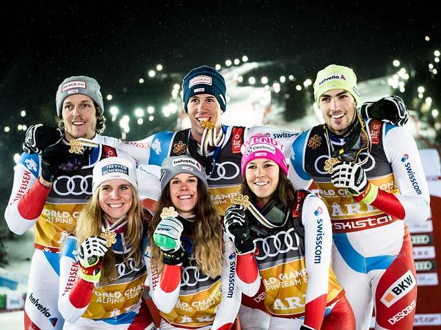 Schweizer Alpin-Team