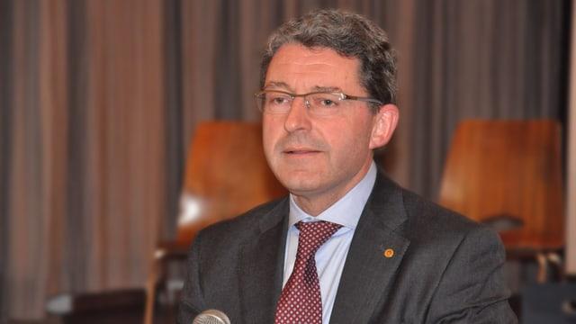 Heinz Brand, il president da la PPS dal grischun, na tradescha betg tgi che la partida nominescha per las elecziuns da la regenza da l'auter onn.