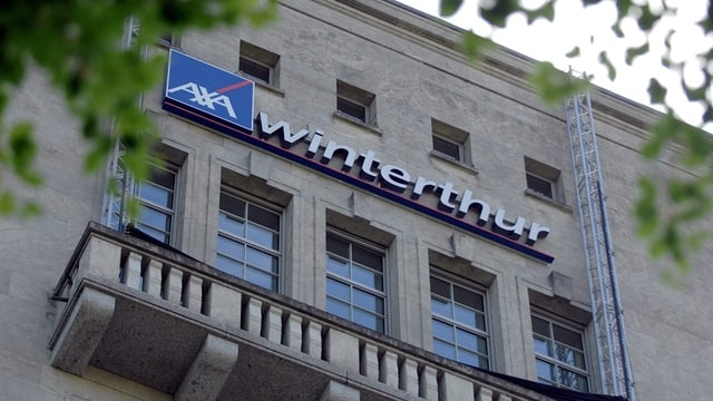 Vista sin il logo da l'AXA Winterthur.