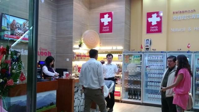 Swissmooh-Shop in Qingdao
