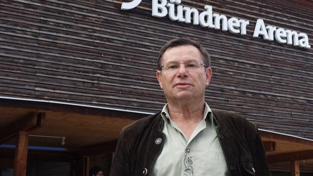 La proposta da la secziun Purtenza è vegnida approvada. Foto: Martin Thöni, il president.