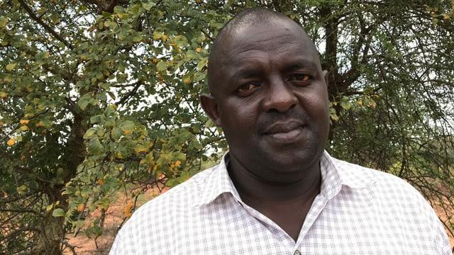 John Ireri, Landwirtschaftsbeauftragter der Region Mwingi North.