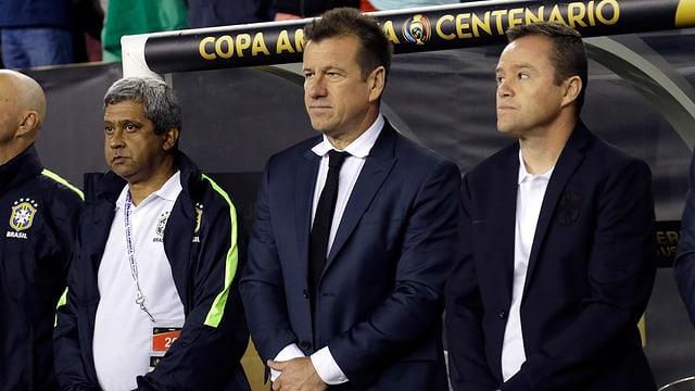 Brasiliens Trainer Dunga.