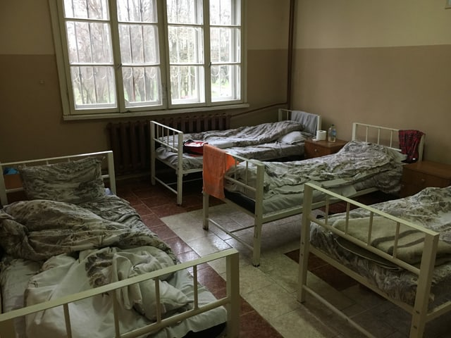 Betten im Psychiatriezentrum
