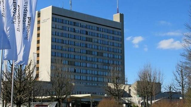 Spital von aussen