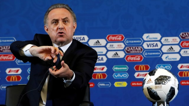 Witali Mutko muss den Posten als WM-Chef wohl räumen.
