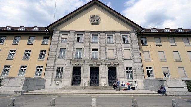 Fassade des Bezirksgerichts Zürich