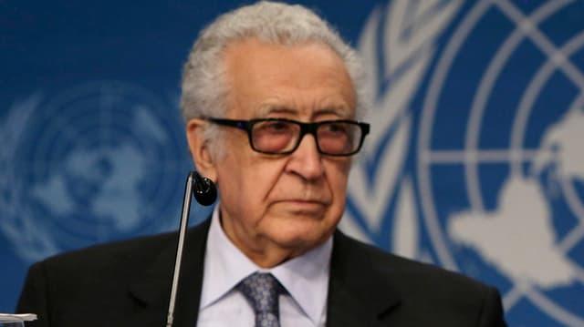 UNO-Vermittler Lakhdar Brahimi